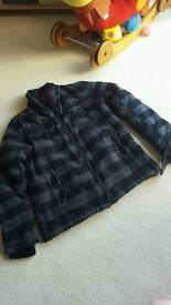 Man's fleece type coat size L