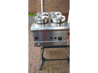 PARRY LPG BAIN MARIE WITH HOSE & REGULATOR