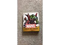 Marvel year by year book £3 no offers collection only gorleston