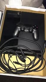 Ps4 500 gb with controller