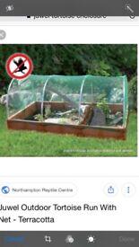 Juwel outdoor tortoise enclosure