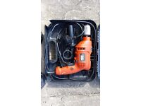 Black and Decker Corded Drill - metal gearing