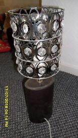 lamp brown base
