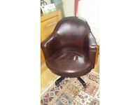 Office desk chair - leather