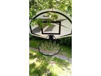 Wall mounted Reebok basket ball board & hoop