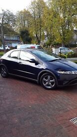 2006 Honda Civic 1.4 low mileage and cheap insurance
