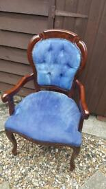 Retro Bedroom Chair Ideal Upholstery Project