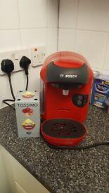 Red Bosch Coffee maker