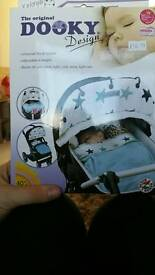 Dooky uv sun shade pram push chair