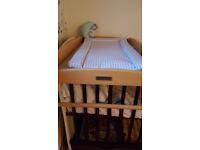 wooden baby changing mat mamas & papas