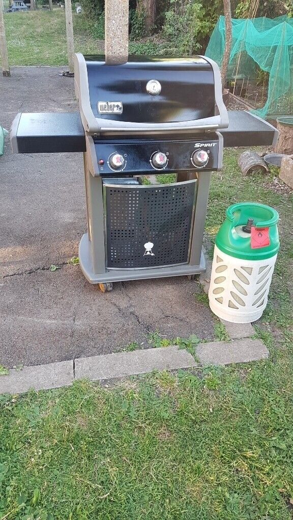 Weber Spirit Original E-310 Gas 3 Burners, Gas bottle ...