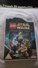 Wii Lego Star Wars Game