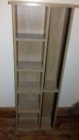 Sturdy CD rack/ bookshelf