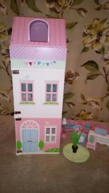 ELC rosebud townhouse doll house