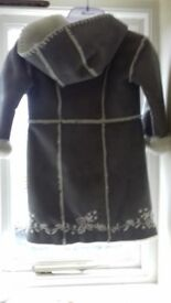 Girls Monsoon Coat age 4-6 years brilliant condition