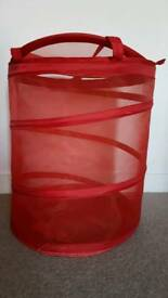 Red storage sack
