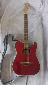 Fender Telecoustic. Acoustic/electric Telecaster.