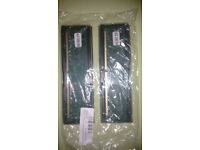 2 x 4GB DDR2 memory modules. New and unused.