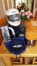 HJC RPHA 10 Helmet + 2 Visors, Bag and Pinlock. XL