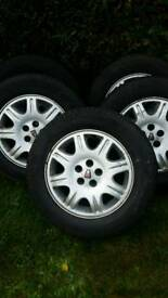 Rover 75 15 inch alloy wheels