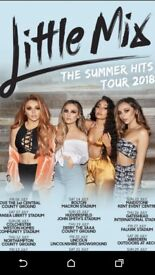 Little Mix General Admission Tickets Bolton Macron Stadium