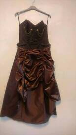 Burlesque steampunk dress