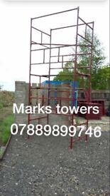 Scaffolding towers for sale ideal for builders & home DIY projects ( new)