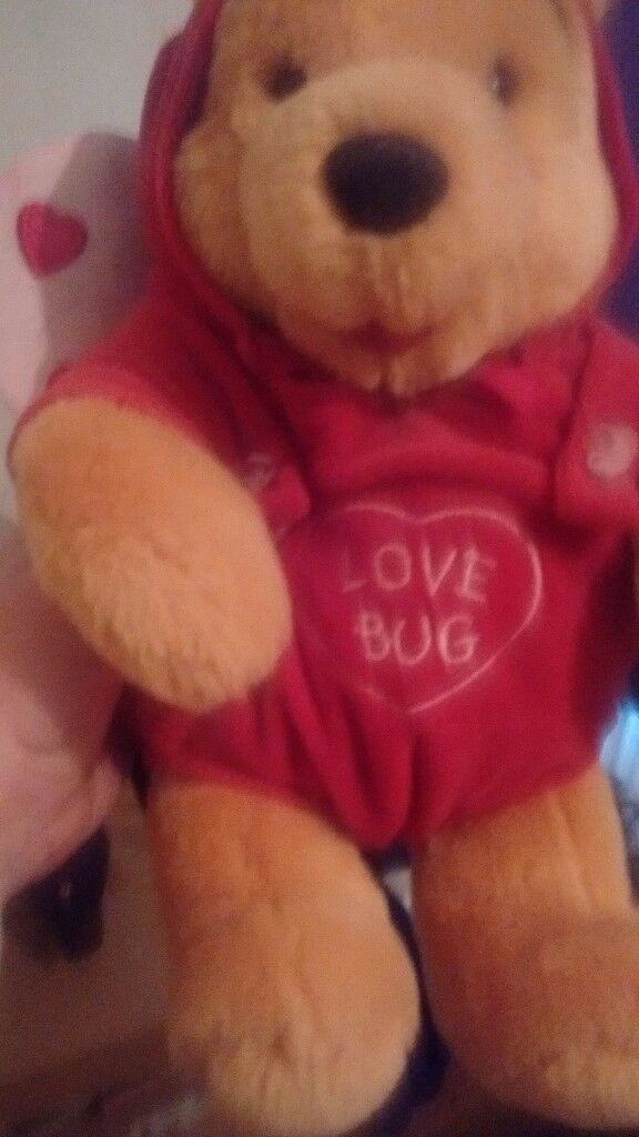Love bug Winnie the pooh