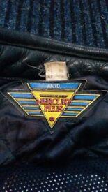 Genuine Akito leather Bike jacket.