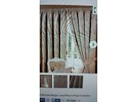 90x90 novello beige lined curtains