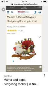 Mamas and papas hedgehog rocker