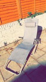 Fold flat Sun lounger sun chair
