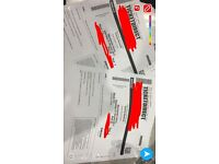 2x Donny Osmond tickets