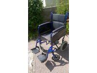 Alu Lite Folding wheel chair