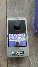 Elektro Harmonix Chorus Guitar effect pedal