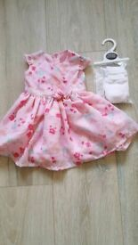 Baby dress. First size
