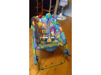 Fisher-Price Deluxe Infant to Toddler Rocker and Vibrating Chair (Newborn up to 40lbs)
