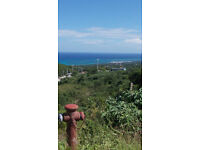 Land for sale in Montego Bay, Jamaica with sea view