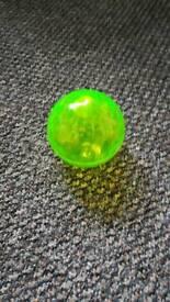 Green disco bouncyball