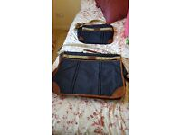 Case for suits and matchin hand luggage bag