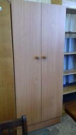 Double door wardrobe