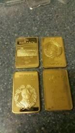 4x gold ingots
