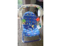 Fisher Price baby swing and bouncer FREE