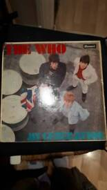 The who my generation original Brunswick mono