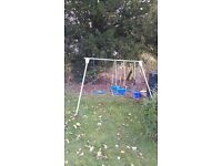 Garden Swing Set - Used, great condition £50