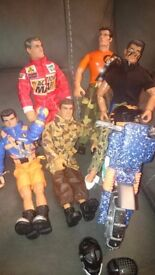 USED ACTION MEN AND VEHICLES