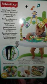 Fisher price rainforest friends space saver jumperoo.
