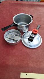 A Vintage Prestige automatic pressure cooker Small appliance