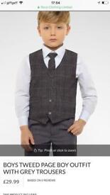 Boys age 4-5 4 piece suit