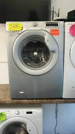 Hoover silver 7.kg load 1400 spin washing machine